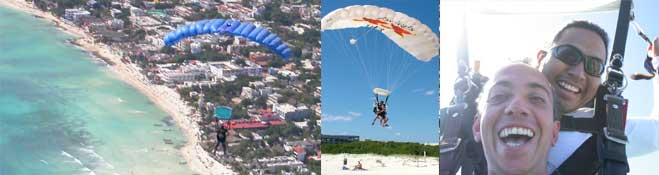 sky dive playa del carmen is something you must do it simply extraordinary skydiving