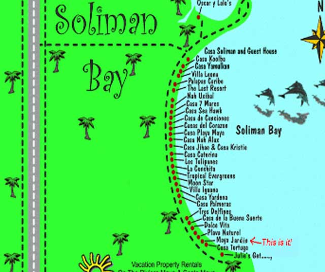map soliman bay