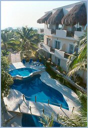hotel playa del carmen riviera del sol1 block from the beach