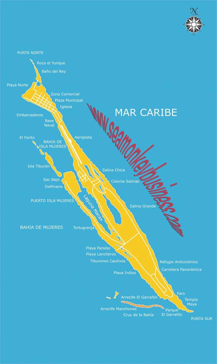Isla Mujeres hotels activities ferry schedule scuba diving