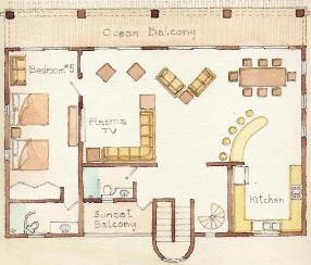 upper floor plan maya jardin house