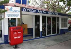 post office in playa del carmen