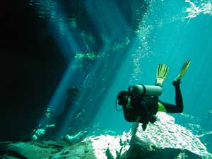 Cenote ChackMool only 20 minutes from Playa del Carmen